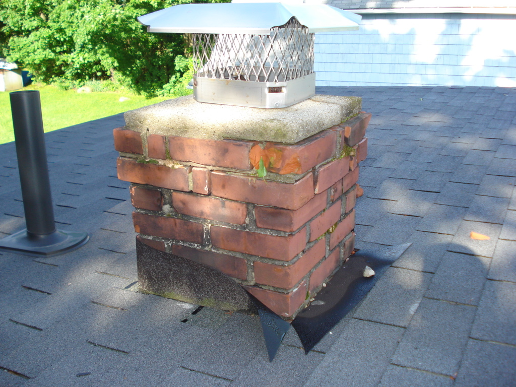 Chimney Before
