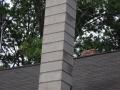 Block Chimney After
