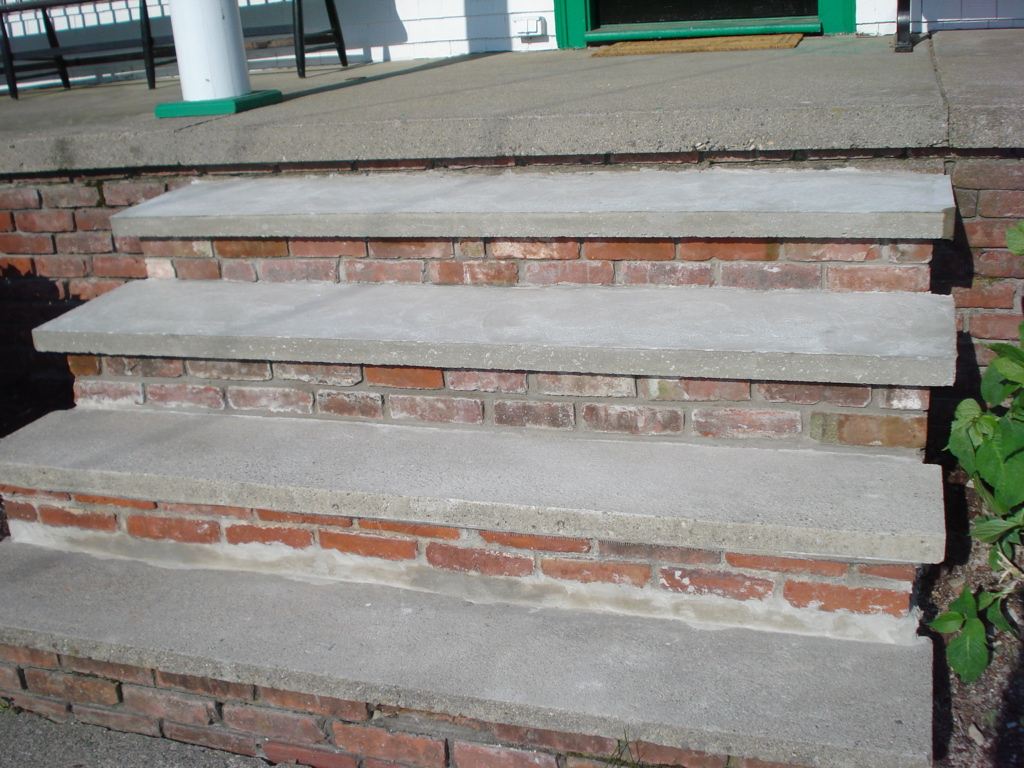 Brick Step Repair - After
