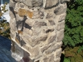 Stone Chimney Flashing Repair