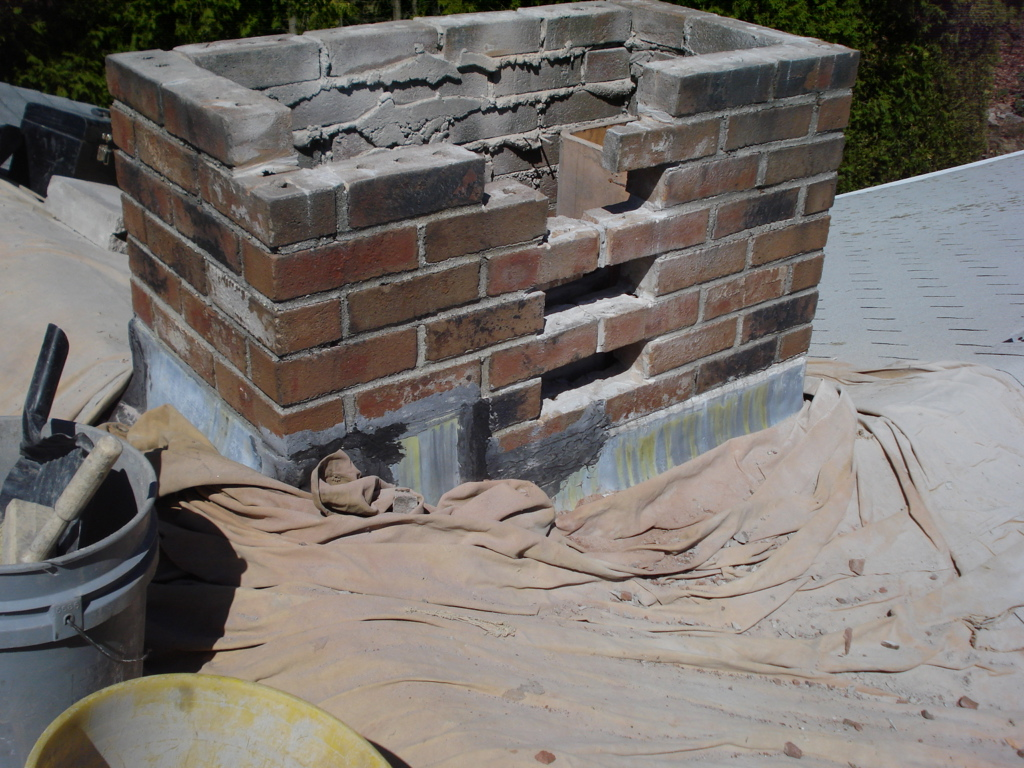Chimney Repair - During
