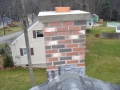 New Wood Stove Chimney on an Existing Home