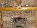 Antique Brick Fireplace